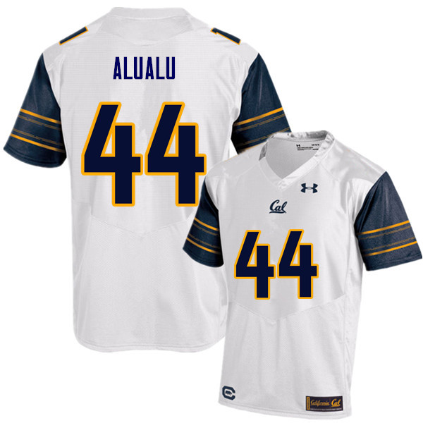Men #44 Tyson Alualu Cal Bears (California Golden Bears College) Football Jerseys Sale-White