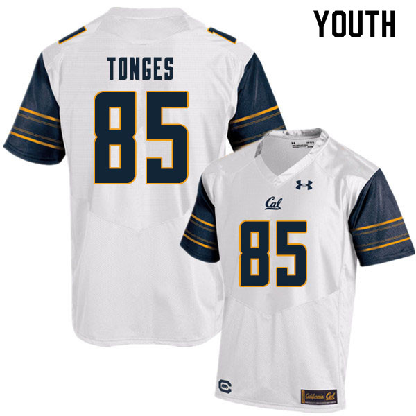Youth #85 Jake Tonges Cal Bears College Football Jerseys Sale-White