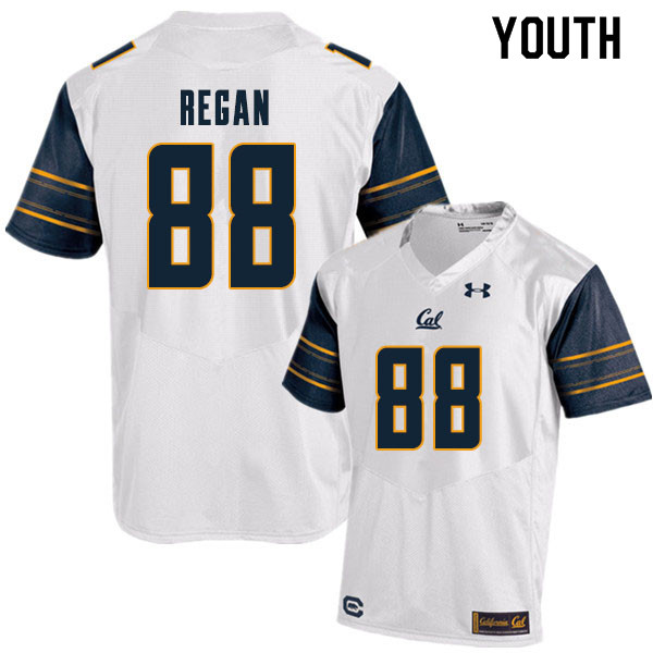 Youth #88 Ryan Regan Cal Bears College Football Jerseys Sale-White